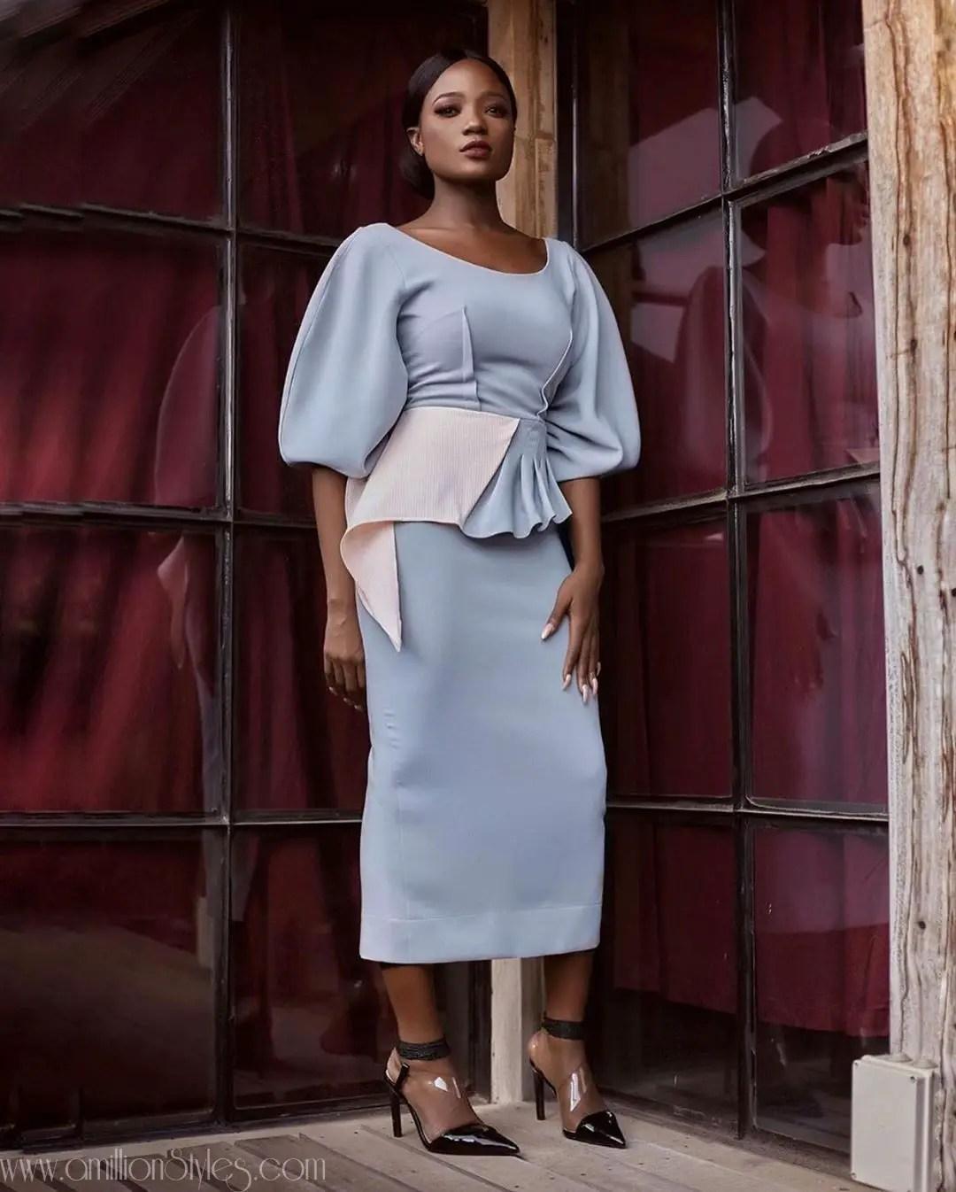 12 Beautiful Work Styles By Nigerian Designer Wana Sambo