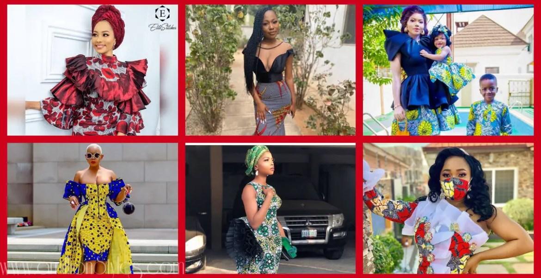 Latest Women's Ankara Styles-Volume 20