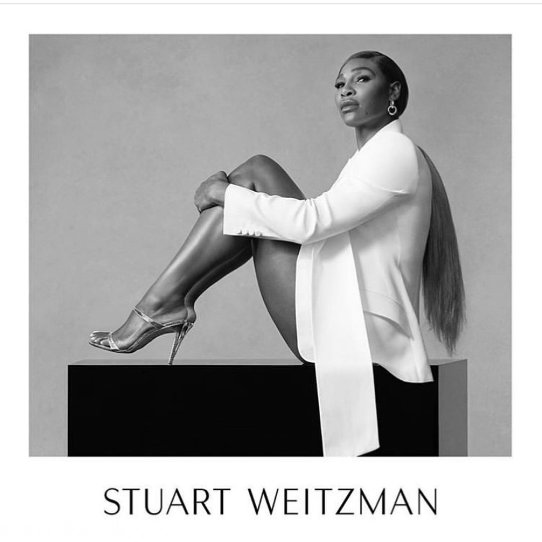 Serena Williams Stuns For Stuart Weitzman SS20 Campaign