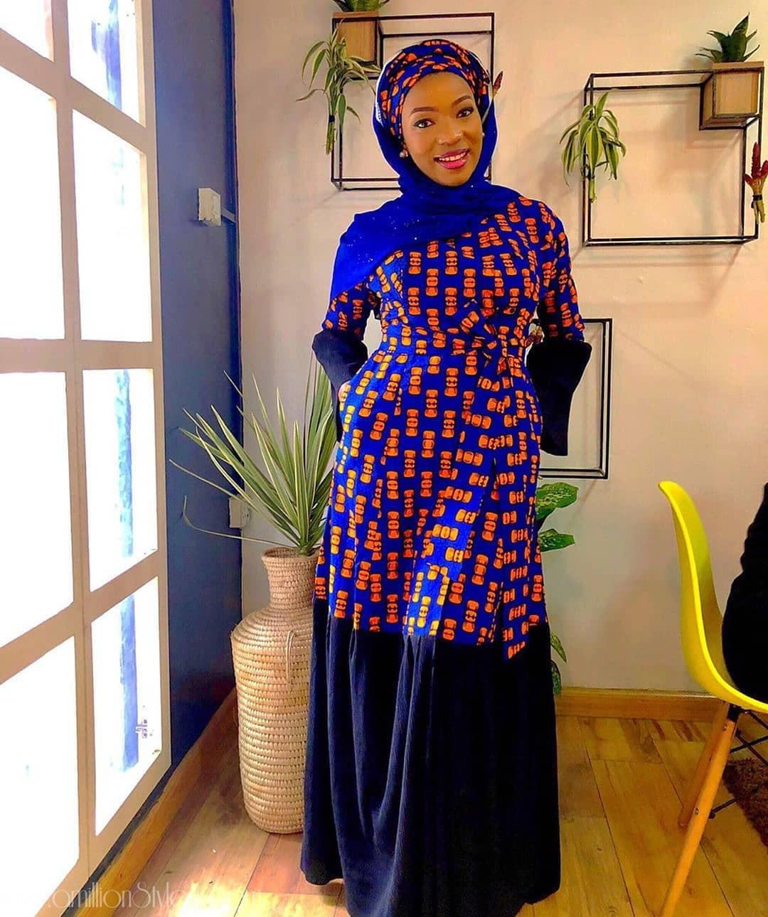 These Stylish Ankara Gowns For Muslim Women Are Bae