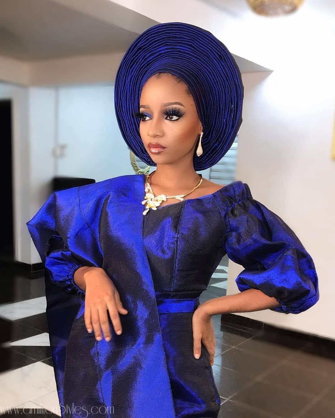 Beautiful Yoruba Brides Styles With Sauce