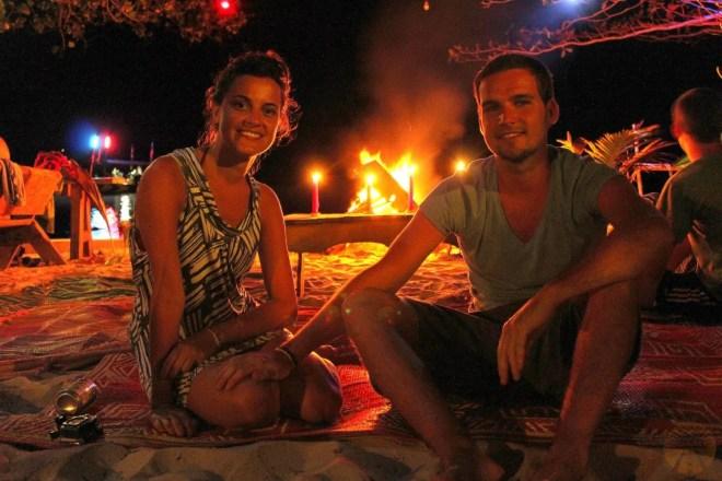 Bonfire night at Coconut Beach - Koh Rong