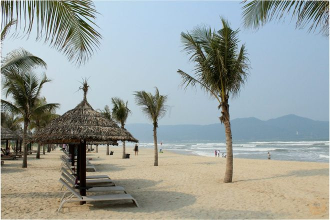 My Khe Beach - danang hostel