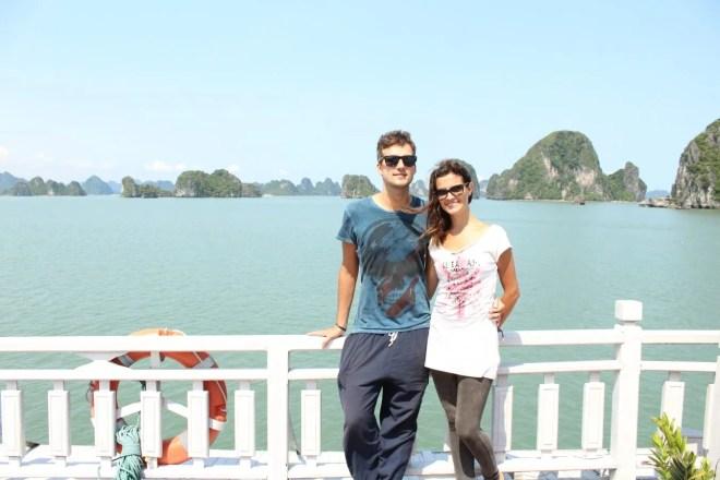 Hanoi to Halong Bay cruise