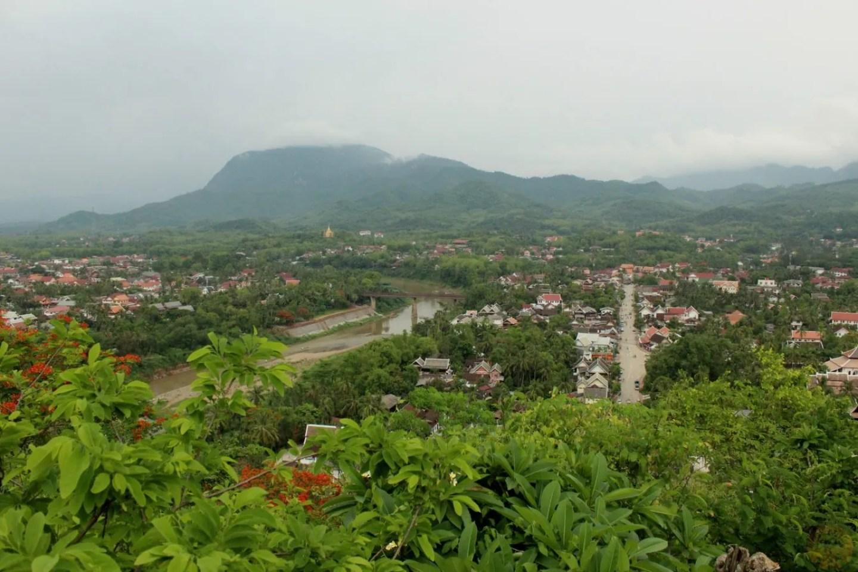 Luang Prabang from Phusi