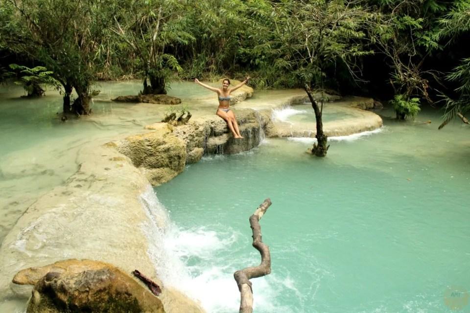 Kuang Si waterfall Luang Prabang how to go
