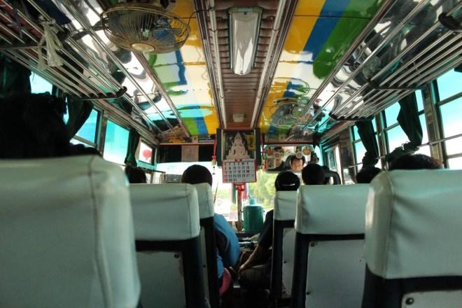 Local Thai bus