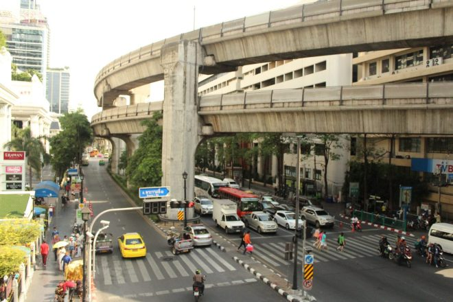 A view on Siam Square surroundings