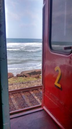 treno Colombo-Galle, Sri Lanka
