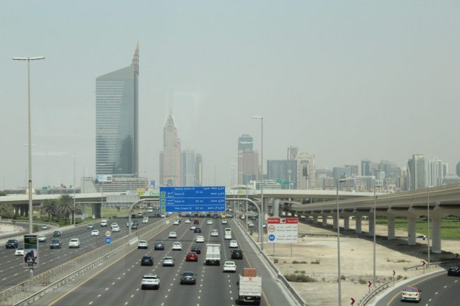 Autostrada a Dubai