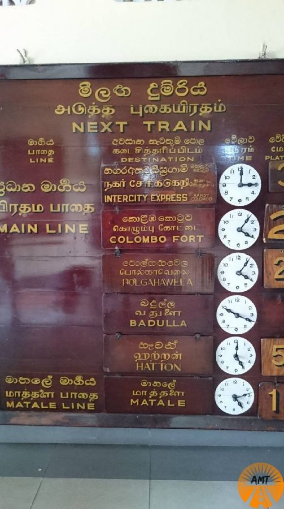 Kandy station, Sri Lanka