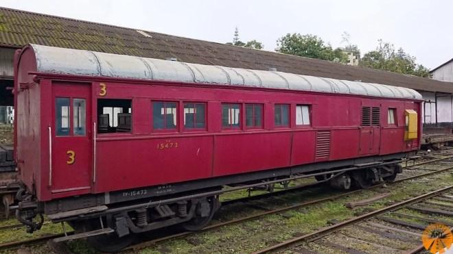 Vagone di 3^classe, treno Ella-Kandy