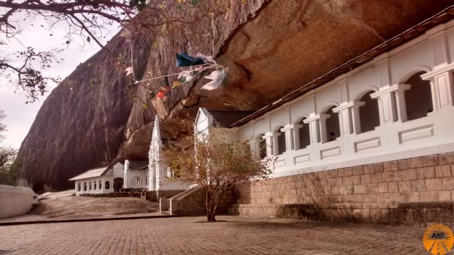 Rock Cave Temple, Dambulla, Sri Lanka