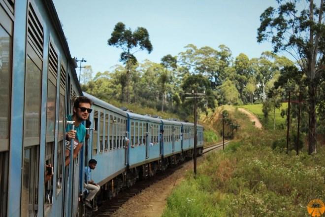 Treno Ella-Kandy, Sri Lanka