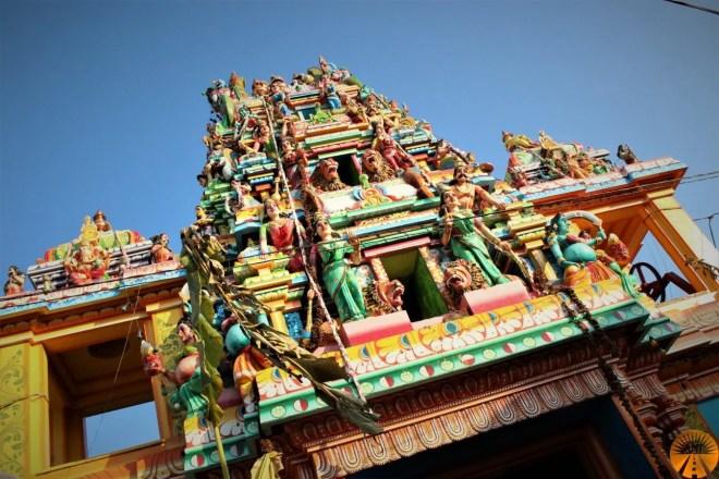 Tamil temple, Trincomalee, Sri Lanka