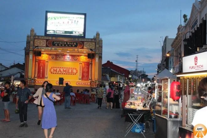 Jonker's Street, mercato notturno, Melaka