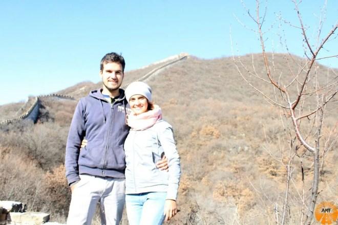 muraglia cinese jiankou autunno inverno