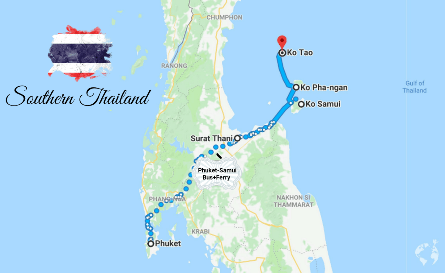 thailand itinerary islands where to go