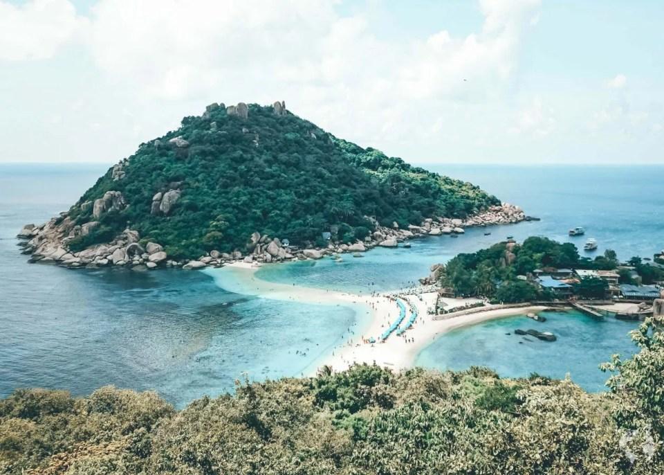 thailand itinerary koh nang yuan