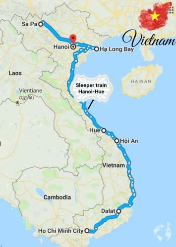 vietnam itinerario guida dove stare