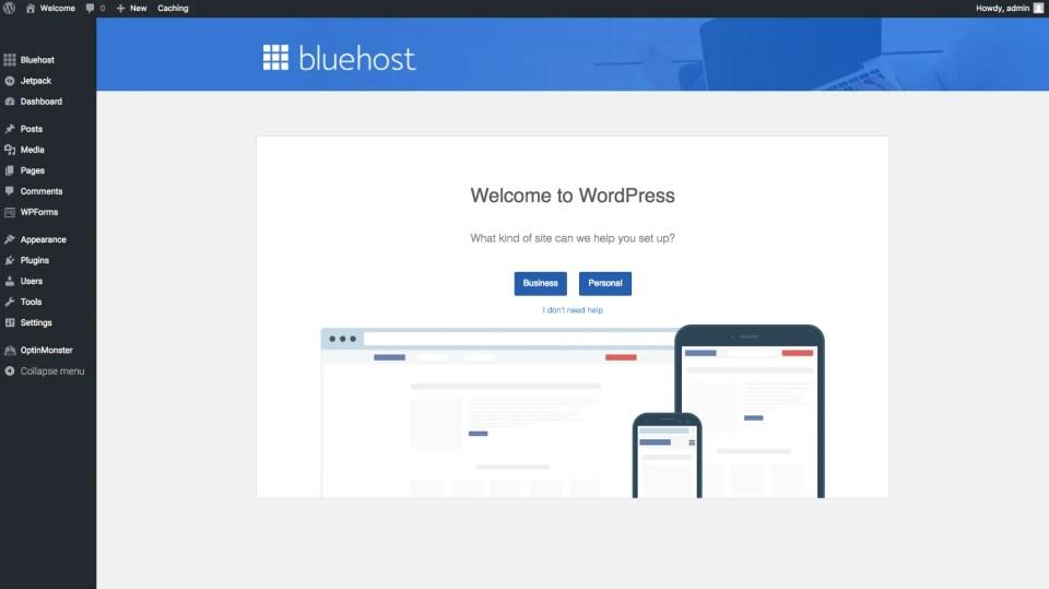 come installare wordpress blog
