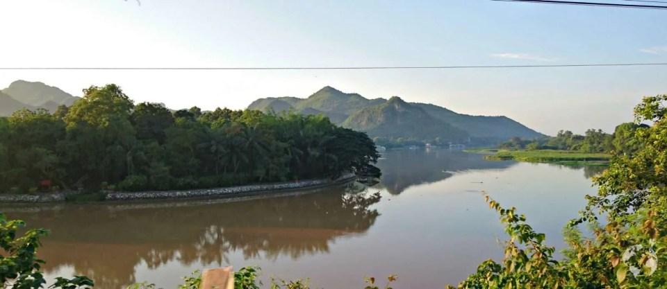 River Kwai view thailand