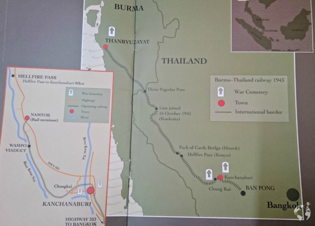 Death railway thailand how to reach