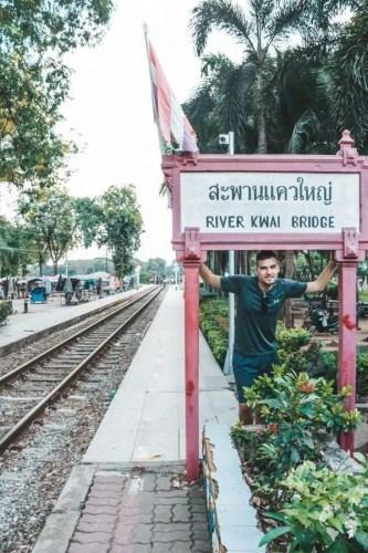 how to go Bridge on River Kwai