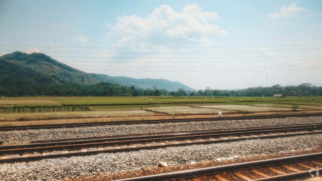 HOW TO TRAVEL ACROSS JAVA BY TRAIN, INDONESIA