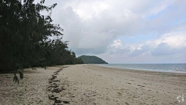 how to go cape tribulation beach