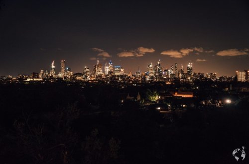 Skyline Melbourne where to go by night