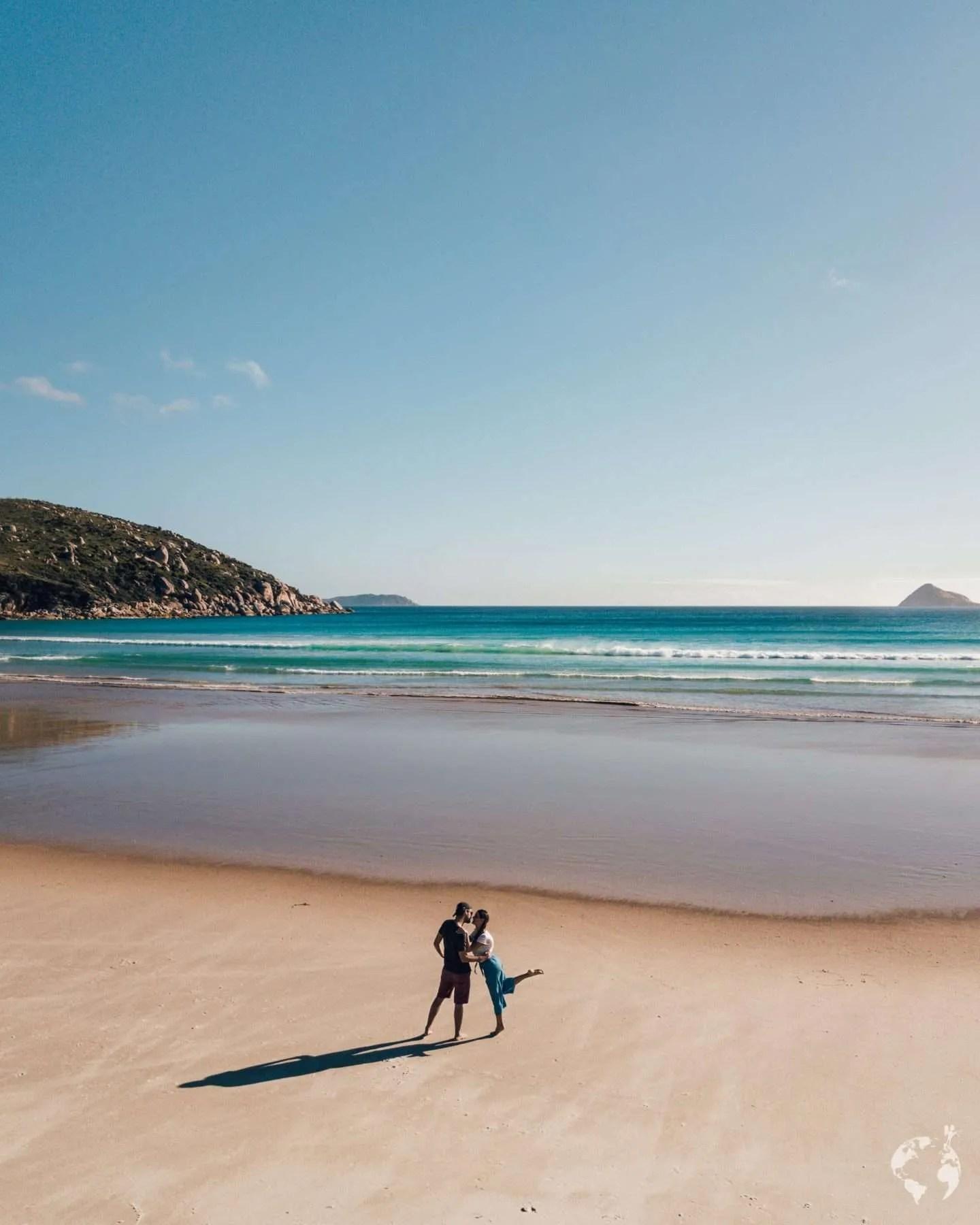 Untouched beach Australia