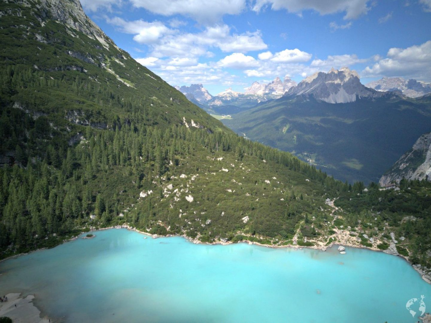 can you fly a drone sorapis lake dolomites
