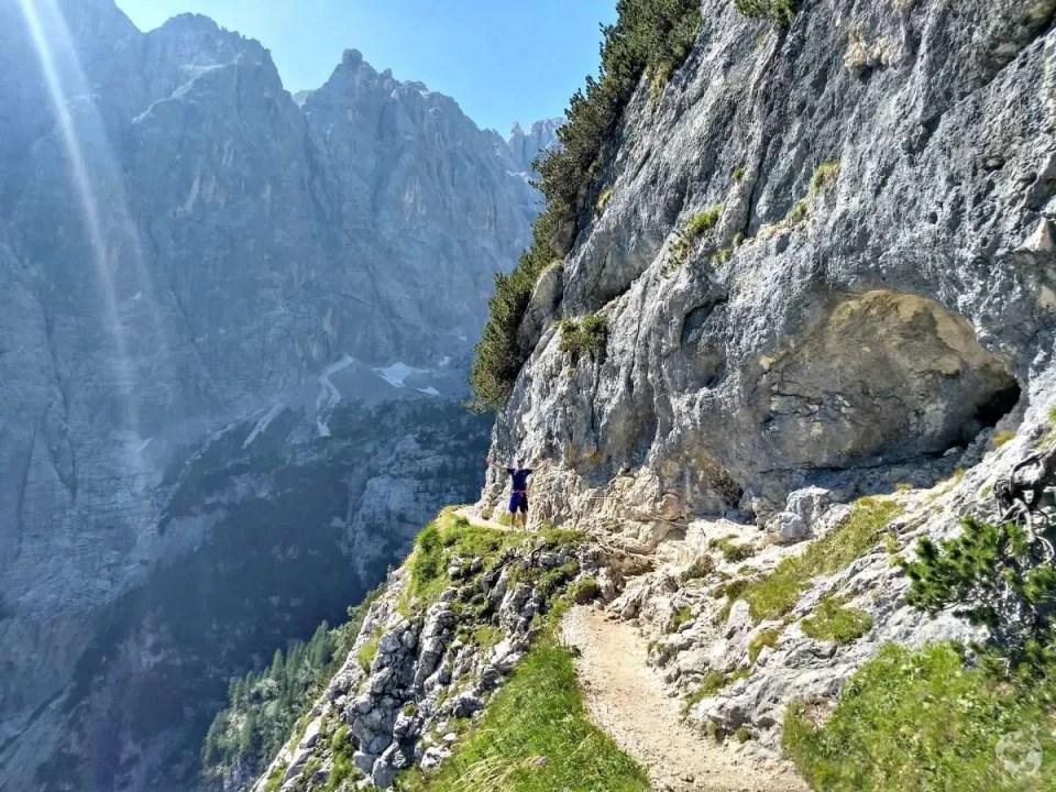 trail 215 dangerous passo tre croci sorapis