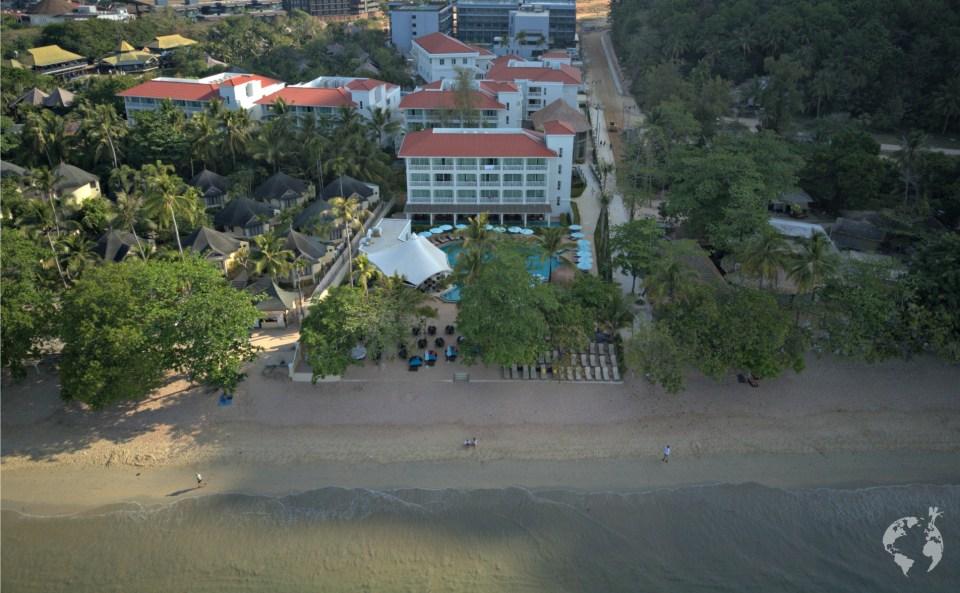 best beach front hotel krabi