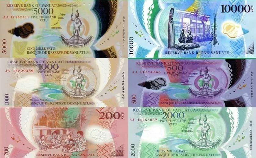 soldi vanuatu vatu currency