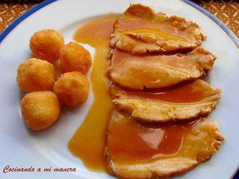 salsa de naranja facil