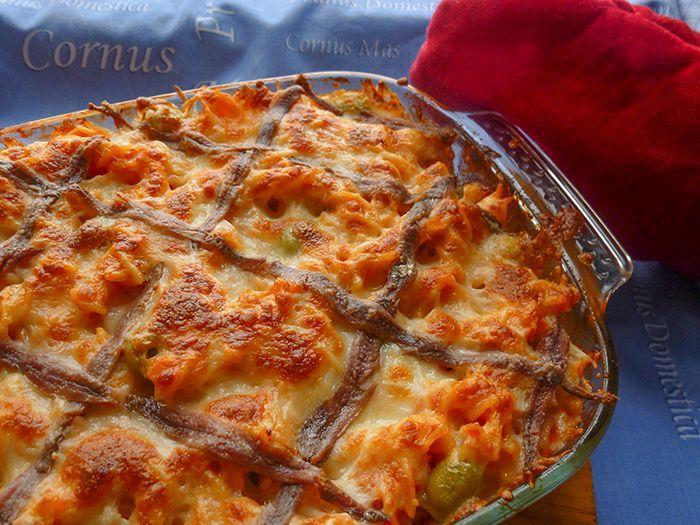 Macarrones al horno un xito asegurado - Macarrones con verduras al horno ...