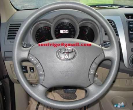steering of LHD Toyota Hilux Vigo 2009
