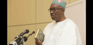 Boubacar Jallox, ministre de la justice de Gambie