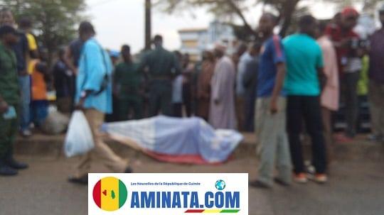 Une malade mentale mortellement accidentée par un véhicule (Image)
