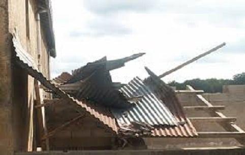 Koubia: 24 cases et leur contenu, des animaux domestiques, des champs de riz et de fonio emportés par une tornade