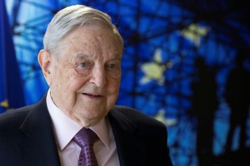 Le financier et philanthrope américain George Soros le 27 avril 2017 à Bruxelles | POOL/AFP/Archives | OLIVIER HOSLET