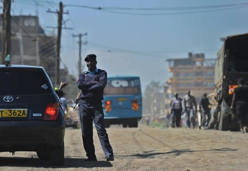 Un policier kenyan, le 9 avril 2014 à Nairoi | AFP/Archives | TONY KARUMBA