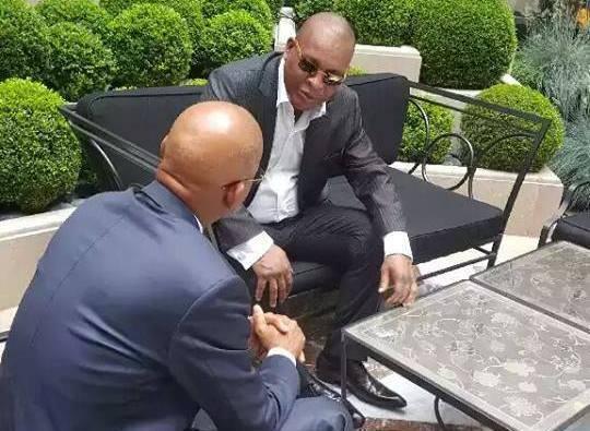 Dalein rencontre le Général Konaté à Paris