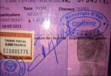 La police annonce la disponibilité de la production des cartes d'identité