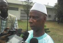 Mamadou Samba Bah, candidat de l'UFDG à Dixinn