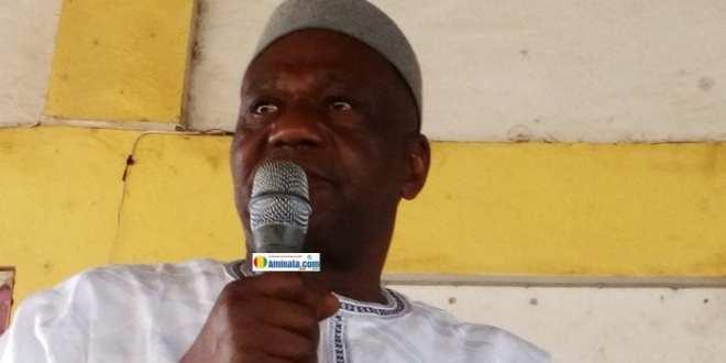 Amadou Damaro Camara, président du groupe RPG arc-en-ciel à l'assemblée nationale