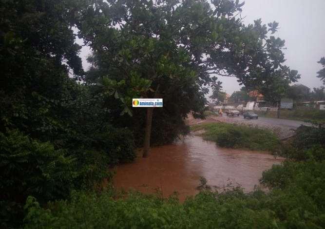 Des pluies diliviennes dans les rues de Labé