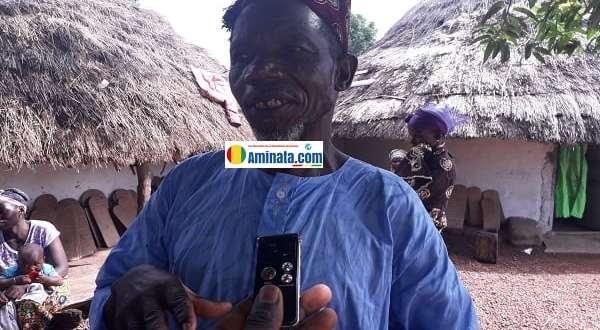 Karamo Kaba, membre du bureau du district de Gagnakaly